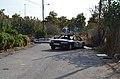 Cotxe cremat al camí de les Fonts, Benimaclet.JPG