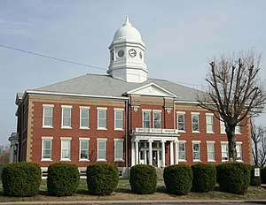 Ballard County Courthouse in Wickliffe