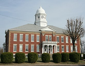 Ballard County Courthouse - Image: Courthouse Ballard County KY