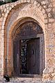 Courtyard Gate, Mahweet (14433440120).jpg