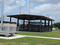 Covered hitting area at Lamar Softball Complex.JPG