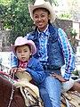 Cowpokes in Religious Procession - Guanajuato - Mexico (38410649824).jpg