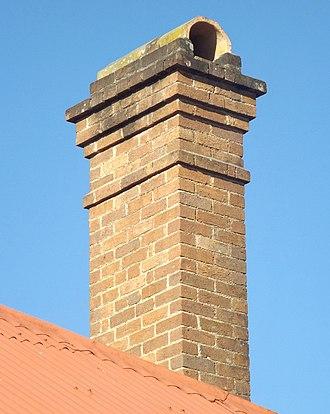 Craigerne - Craigerne residence chimney, 2015
