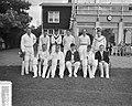 Cricket Nederlands Bondselftal tegen Free Foresters Amstelveen Nederlands elfta, Bestanddeelnr 907-9481.jpg