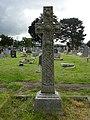 Croes Geltaidd - Celtic Cross at Llanfarchell, Dinbych 05.jpg