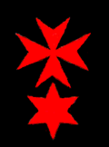 Cross with red star.png