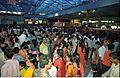 Crowd - Dinosaurs Alive Exhibition - Science City - Calcutta 1995-07-31 344.JPG
