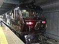 "Cruise train ""Seven Stars in Kyushu"" at Hakata Station 5.jpg"