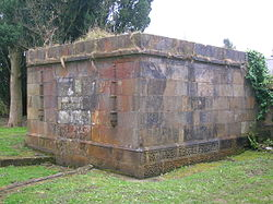 The Mausoleum of the Cunninghames of Lainshaw in the Laigh Kirk cemetery, Stewarton.