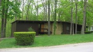 Curtis–Grace House - Curtis–Grace House, April 2012