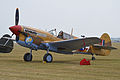 Curtiss P-40F Kittyhawk 'X1-7' (G-CGZP) (14140482835).jpg