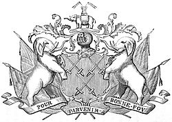 Cutlers' Company, coat of arms, p.4, An Historical Essay on the Livery Companies of London.jpg