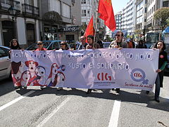 Día do traballo. Santiago de Compostela 2009 29.jpg