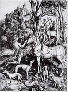 Dürer - Der hl Eustachius