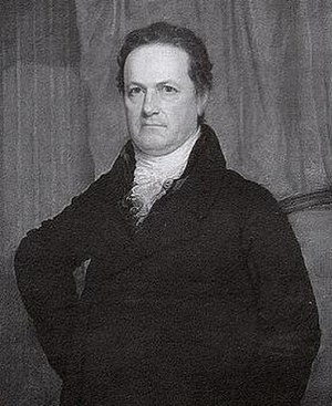 "Warren County Canal - Governor DeWitt Clinton of New York, who gave Warren County ""canal fever"" when he visited in 1829."