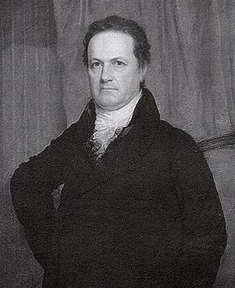"""Warren County Canal - Governor DeWitt Clinton of New York, who gave Warren County """"canal fever"""" when he visited in 1829."""