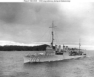 USS Long - Image: DD 209