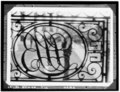 DETAIL IRONWORK ON BALCONY - Louisiana State Bank, 403 Royal Street, New Orleans, Orleans Parish, LA HABS LA,36-NEWOR,7-6.tif