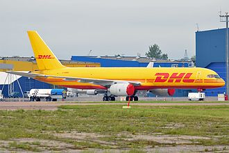 Boeing 757 - DHL Aviation 757-200SF in 2014