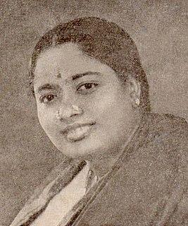 D. K. Pattammal Indian singer