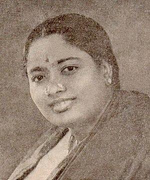 D. K. Pattammal - D. K. Pattammal in the late 1940s.