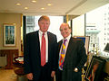DONALD TRUMP + Bobsin, New York 2005.jpg
