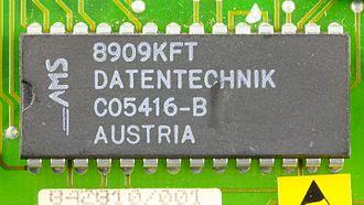 Ams AG - Image: DOV 1X ams Datentechnik C05416 B on printed circuit board 9787