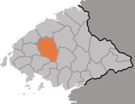 Location of Ch'ŏnma County