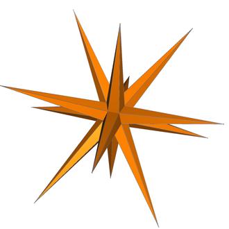 Pentakis dodecahedron - Image: DU58 great pentakisdodecahedron