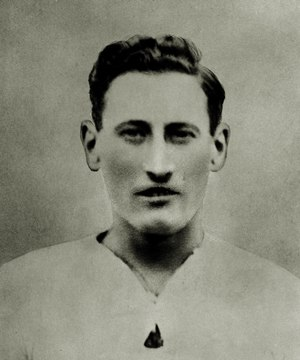 Harry Morris (footballer, born 1897) - Morris while with Brentford in 1921.