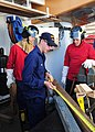 Damage control exercise on board the USCGC Alder, during Operation Nanook 2010.jpg