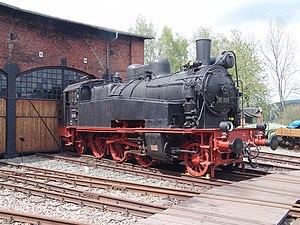 Saxon XIV HT - Image: Dampflokomotive 75 501 Eisenbahnmuseum Schwarzenberg