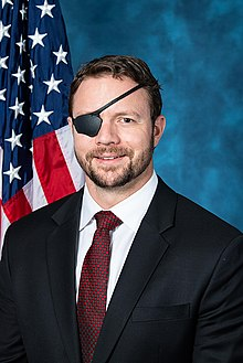 Dan Crenshaw, official portrait, 116th Congress.jpg