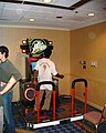 Dance Dance Revolution Extreme arcade at Anime Expo 2003-07a.jpg