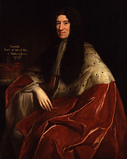 Daniel Finch, 2nd Earl of Nottingham English politician and noble