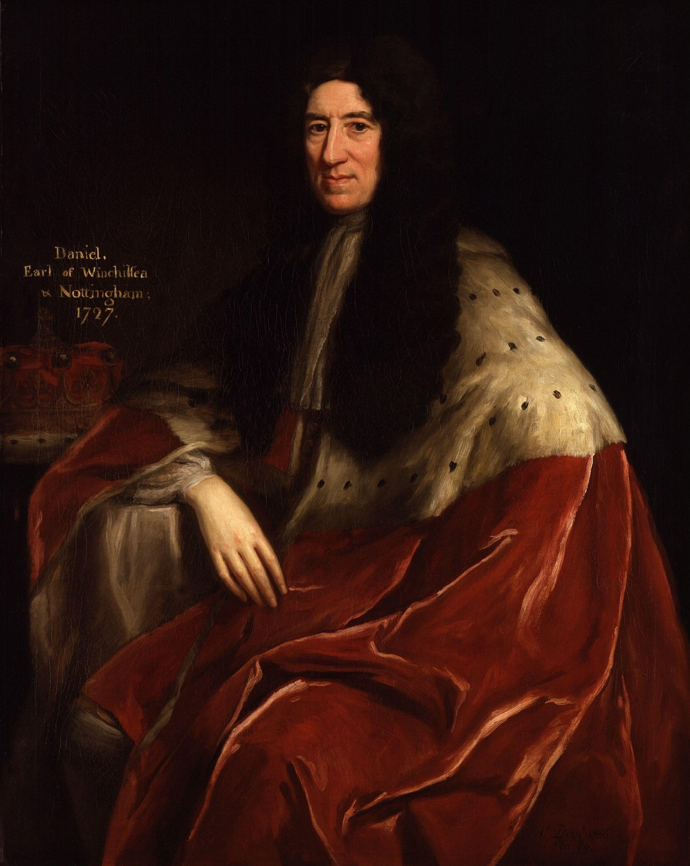 Daniel Finch, 2nd Earl of Nottingham and 7th Earl of Winchilsea by Jonathan Richardson