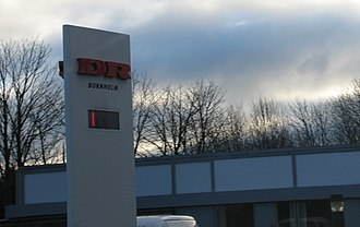 DR (broadcaster) - DR regional office in Rønne.