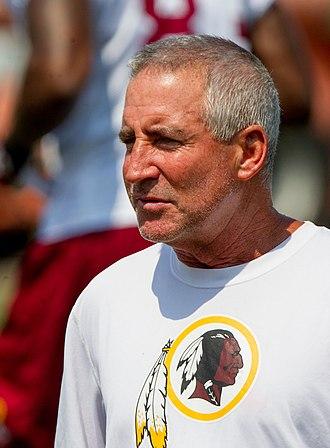 Danny Smith (coach) - Image: Danny Smith Washington Redskins
