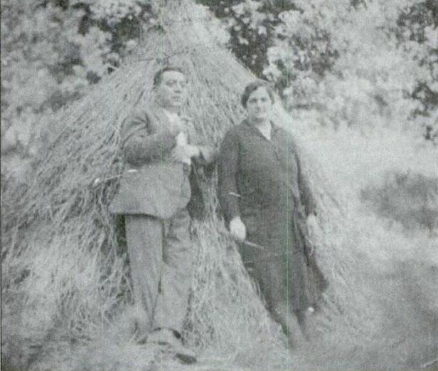 Darío Álvarez Limeses e María Blázquez Ballester, Baión, 1928