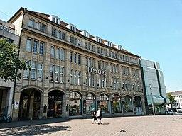 Marktplatz in Darmstadt