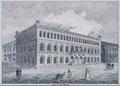 Das neue Rathaus, Detail aus Henry Abbott, Elberfeld im Grundriß und mit seinen vorzüglichsten Gebäuden, 1828.png