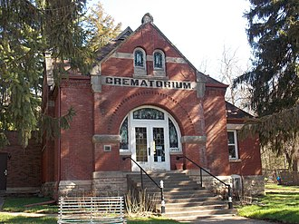 Davenport Crematorium - Image: Davenport Crematorium