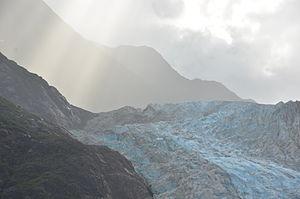 Davidson Glacier - Davidson Glacier, 24 August 2011