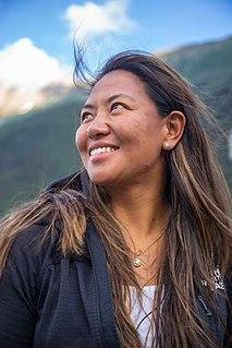 Dawa Yangzum Sherpa Nepali mountaineer guide