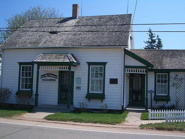 Дом, в котором родилась Люси Монтгомери в Нью-Лондоне