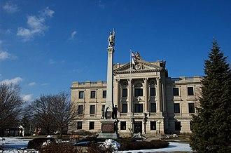 DeKalb County Courthouse (Illinois) - Eastern side
