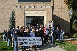 DeSales High School Walk-a-Thon, Geneva, New York