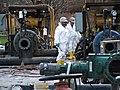 December 2009, Breaking down, or de-mobilizing a booster pump station (5201419705).jpg