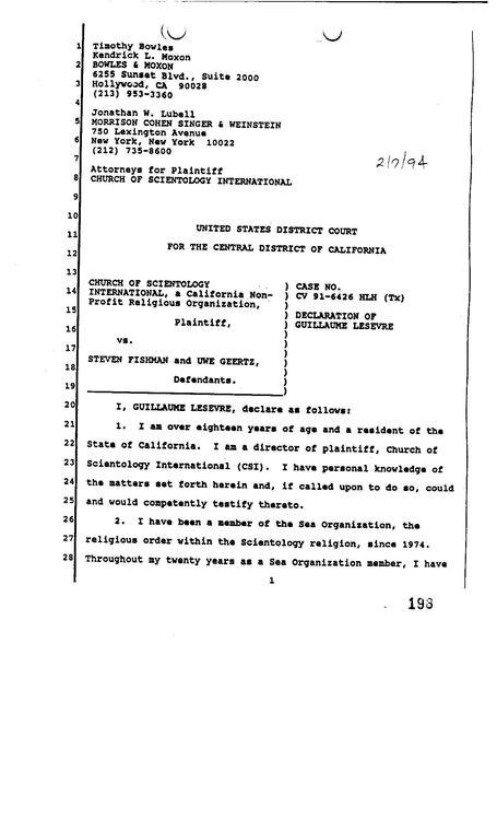 file declaration guillaume lesevre 1994 pdf