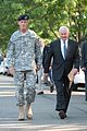 Defense.gov News Photo 100723-A-0193C-002 - Stanley McChrystal and Robert Gates approach the Fort McNair parade grounds to begin McChrystal's retirement ceremony.jpg